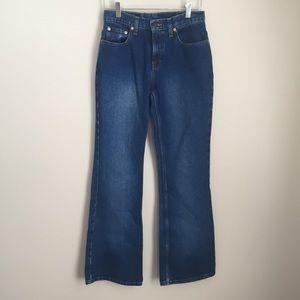 Jordache Vintage Bell Bottom Jeans High Waist